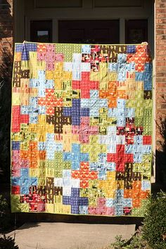 Plus Quilt Tutorial.