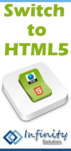 Switch to HTML5