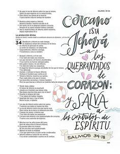 Biblia de Apuntes Salmos 34:18