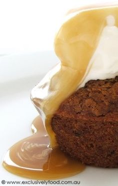 Exclusively Food: Individual Sticky Date Puddings Recipe