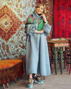 Modern Hijab Fashion, Street Hijab Fashion, Workwear Fashion, Abaya Fashion, Muslim Fashion, Modest Fashion, Fashion Dresses, Mode Abaya, Mode Hijab