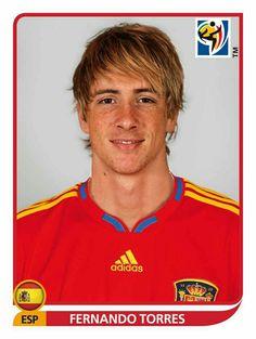 580 Fernando Torres - España - FIFA World Cup South Africa 2010