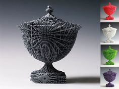 Bloom, 2010, Made by Additive Layer Manufacturing.