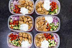 20 Healthy Dinners You Can Meal Prep on Sunday #mealplan #mealplanning #health