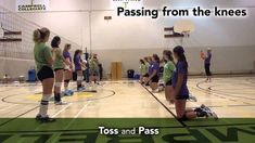 Sask Volleyball Triple Ball Video 3 of 5 Forearm Passing Volleyball Passing Drills, Volleyball Warm Ups, Volleyball Drills For Beginners, Volleyball Gifs, Volleyball Skills, Volleyball Practice, Volleyball Training, Volleyball Workouts, Coaching Volleyball