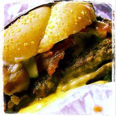 Baconator Mushroom Melt
