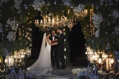 Wedding in Paradise: The Bachelor's Jade Roper + Tanner Tolbert Tie the Knot! - Style Me Pretty