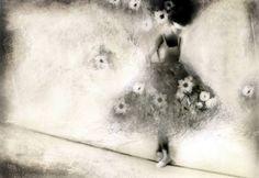 "Saatchi Art Artist Sonia Marialuce Possentini; Drawing, ""The Tightrope Walker -La Funambola"" #art"