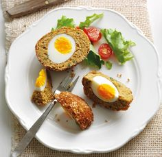 Falafel Scotch egg Recipe: Veggie Magazine