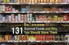 Always be prepared! Get these emergency supplies and create a disaster preparedness kit for your home with emergency food and supplies to survive. Best Survival Food, Survival Prepping, Survival Skills, Doomsday Prepping, Emergency Preparation, Survival Hacks, Urban Survival, Food Preparation, Emergency Food Storage