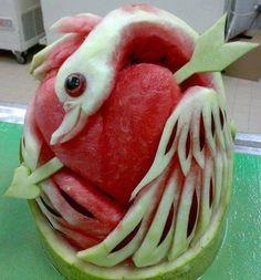 Amazing Fruit Art.