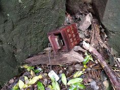 A cool 4/4 geocache that needs travel bug key to open.  (pic by Owain Boorman on Twitter)  #IBGCp