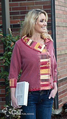Sweatshirt Transformations by C&T Publishing, via Flickr