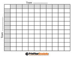 Super Bowl Pools Ideas superbowlgames002 Football Squares Printable Grid Template Office Pool