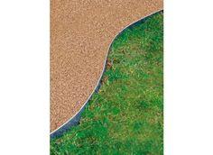 Bordure de jardin en acier galvanisé H 14 cm - Jardin et Saisons