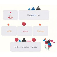 "Parts of speech Montessori style - love love love ""the party hat"" for the pyramids! Montessori Elementary, Montessori Classroom, Primary Classroom, Teach English To Kids, Teaching English, Language Activities, Reading Activities, Nouns And Verbs, Early Reading"