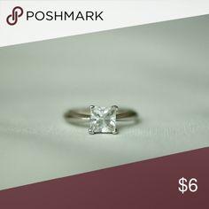 Princess cut Zirconia ring 💍 1.5 ct. Princess cut zirconia ring 💍 Jewelry Rings
