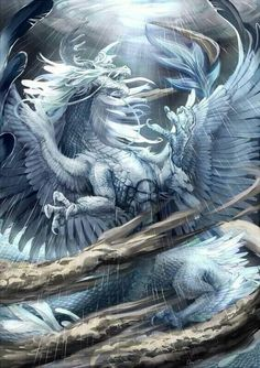 Ice Blue Dragon