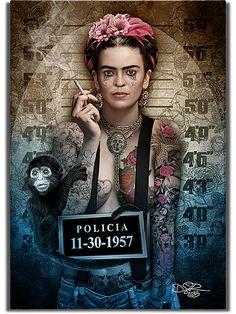 Fotografije na zidu zajednice Punk Disney Princesses, Frida Art, Disney Princess Tattoo, Dark Disney, Joker Art, Twisted Disney, Jolie Photo, Cultura Pop, Horror Art