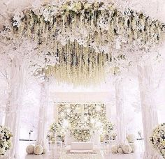 I always wondered what the backdrop to my wedding would look like... This is what.