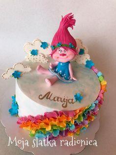 Trolls cake by Branka Vukcevic