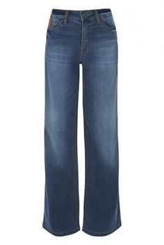 Washed Wideleg Jean