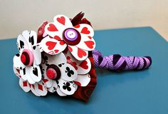 Playing Card Bouquet Tutorial