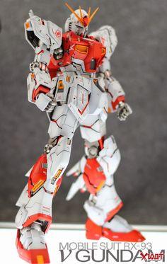 MG 1/100 RX-93 Nu Gundam Ver.Ka - Customized Build   Modeled by Jon-K     View the MG 1/100 Sazabi Customized Build: HERE