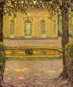 Le Pavillon Francais, Versailles, Henri Le Sidaner
