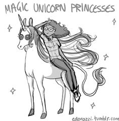She's been a magic Unicorn Princess from episode one.
