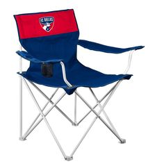 FC Dallas MLS Canvas Chair
