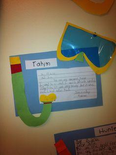 Today in Second Grade: Ocean Unit Ocean Activities, Literacy Activities, Kindergarten Projects, In Kindergarten, Ocean Unit, Ocean Ocean, Creative Writing Prompts, Writing Ideas, School Themes
