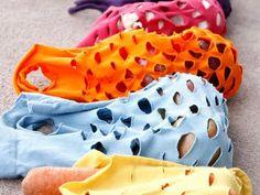 Reciclar camisetas en bolsos