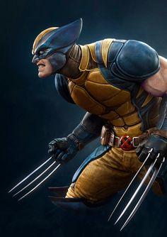 Marvel Comics Art, Marvel Films, Marvel Heroes, Marvel Characters, Wolverine Costume, Wolverine Art, Wolverine Character, Comic Character, X Men Personajes
