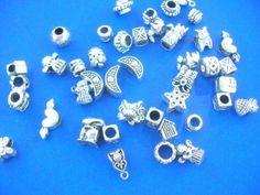 pandora style metal beads mix - http://www.wholesalesarong.com/blog/pandora-style-metal-beads-mix/
