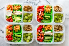 Salads for School Lunch: from WhatLisaCooks.com