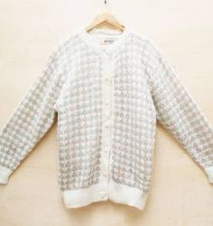 Maxi tricot vintage