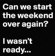 I need a do over!