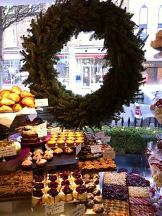 Look at that - Christmas Window Display at Ottolenghi in London