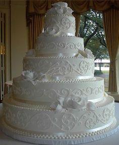 wedding cakes maroon Fondant Roses and Scrolls Huge Wedding Cakes, Extravagant Wedding Cakes, Bling Wedding Cakes, Wedding Cake Prices, Creative Wedding Cakes, Amazing Wedding Cakes, Fall Wedding Cakes, Wedding Cakes With Cupcakes, Elegant Wedding Cakes