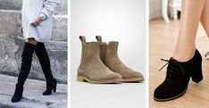Cómo usar tus vestidos en invierno (Elegante y femenina) Sweater Dress Boots, Winter Dresses, David Bowie, Chelsea Boots, Chic, Womens Fashion, Sweaters, Fashion Tips, Outfits