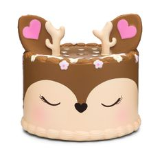 sillysquishies.com  - Deer Cake Squishy , $24.99 (https://www.sillysquishies.com/deer-cake-squishy/)