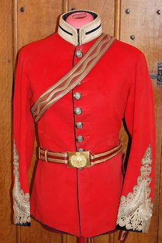Victorian Royal Engineers Volunteer Officers Colonels Full Dress Tunic