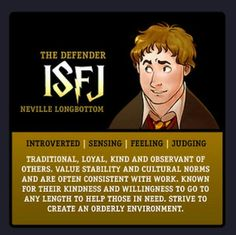 Happy Potter ISFJ Neville Longbottom