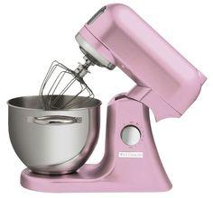 Wartmann Keukenmachine Roze 1000 WATT Wilt u mixen, kloppen en mengen dan is deze Wartmann standmixer keukenmachine met een vermogen van maar liefst 1000 Watt een uitstekende keuze. De Wartmann standmixer keukenmachine heeft een stevige behuizing van gegoten aluminium en een mooie, klassieke, vormgeving.  € 349,95