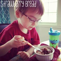 Strawberry Bread - Our Life as an epi-Family