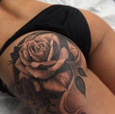 Indeed, in our eyes, tattoos are no longer related to bad things, they are becoming a label for the influx of people to express their own personality. I shared 15 sexy women breast tattoos before. Now, I will share more sexy tattoos for women. Finger Tattoos, Baby Tattoos, Side Tattoos, Body Art Tattoos, Black And Grey Rose Tattoo, Tattoos For Women On Thigh, Tattoo Motive, Sternum Tattoo, Tattoo Thigh
