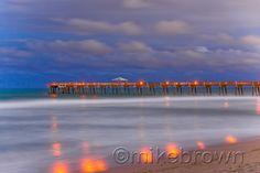 Juno Pier at Midnight