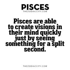 Pisces Facts. For more zodiac fun facts, click... - TheZodiacCity ...