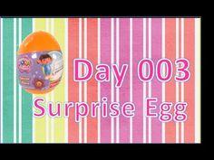 Abrir um Ovo kinder Surpresa - (abrir ovo surpresa dora exploradora)